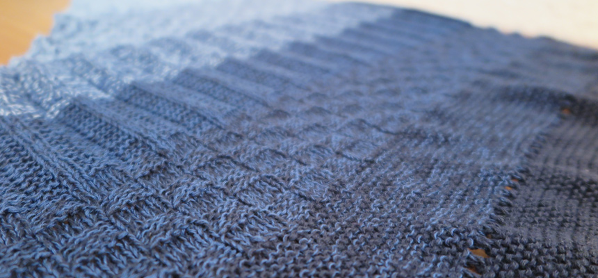 asymmetrisches Tuch aus Fashion Box No. 1